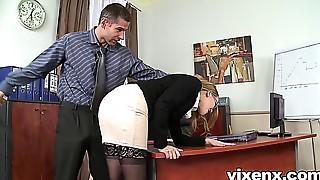 Anal,Ass to Mouth,Big Ass,Blonde,Blowjob,Cumshot,Facial,Fingering,Glasses,Fucking