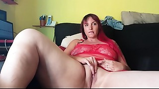 BBW,Big Boobs,Fingering,Masturbation,Orgasm,Sex Toys,Shaved,Slut,Solo