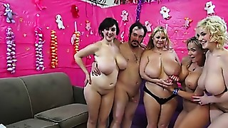BBW,Big Boobs,Chubby,Gangbang,Group Sex,Fucking,Mature,MILF,Outdoor,Stepmom