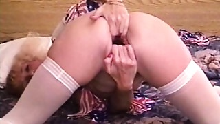 Close-up,Fisting,Gaping,Lingerie,Money,Sex Toys,Solo