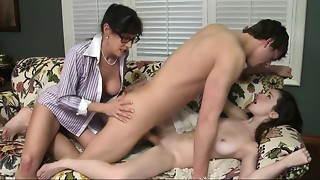 Big Boobs,Blowjob,Brunette,Daughter,Group Sex,Fucking,Mature,MILF,Petite,Reality