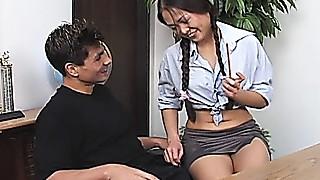 Asian,Ass licking,Babe,Big Ass,Blowjob,Cumshot,Fucking,Office,Petite,Seduced