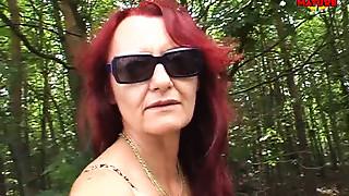 Big Cock,Blowjob,Cumshot,Handjob,Mature,MILF,Old and young,Outdoor,Public Nudity,Redhead
