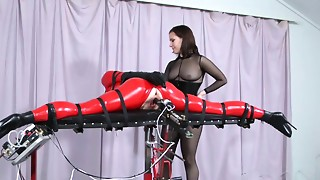 BDSM,Fucking,Latex,Machine,Strapon