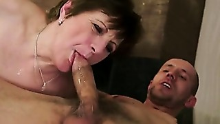 Blowjob,Cumshot,Facial,Grannies,Hairy,Mature,MILF,Old and young,Stepmom