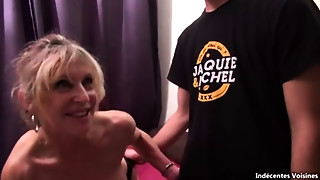 Blonde,Gangbang,Fucking,Mature,MILF,Old and young,Stepmom