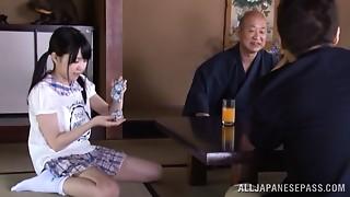 Asian,Blowjob,Hairy,Petite,Teen