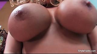 Big Boobs,Blonde,Cumshot,Facial,Fucking,Pornstar,Shy