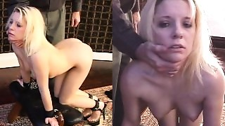 Anal,BDSM,Blonde,Fingering,Slut,Spanking
