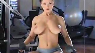 Brunette,Close-up,Gym,Softcore