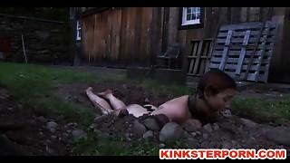 BDSM,Outdoor,Public Nudity,Spanking