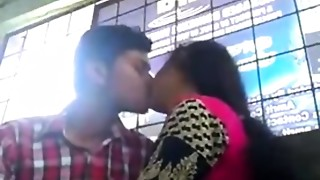 Babe,Indian,Kissing,School