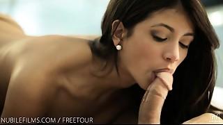 Beautiful,Blowjob,Latina,Petite,Seduced,Small Tits,Softcore