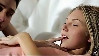 Blonde,Blowjob,Cumshot,Fucking,Petite,Russian,Softcore