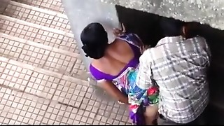 Caught,Couple,Fucking,Indian,Outdoor
