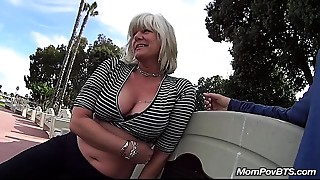 Bathroom,Big Ass,Big Boobs,Flashing,Fucking,Mature,MILF,POV,Public Nudity,Stepmom
