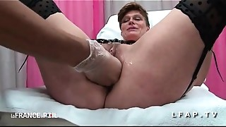 Amateur,Anal,Doctor,Fucking,Mature,MILF,Sex Toys,Threesome,Uniform