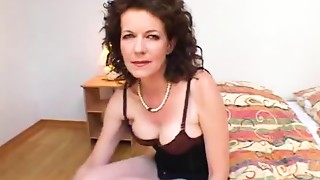 Black and Ebony,Creampie,Grannies,Hairy,Fucking,Interracial,Mature,MILF,Old and young,Stepmom