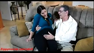 Anal,Blowjob,Daddy,Daughter,Doggystyle,Fucking,Pregnant,Teen