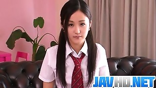 Asian,Blowjob,Fingering,Fucking,School,Small Tits,Uniform