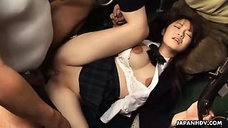 Asian,BDSM,Big Boobs,Bus,Fucking,School,Teen