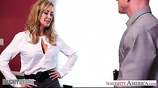 Babe,Big Boobs,Blonde,Blowjob,Fucking,Lingerie,MILF,Office,Shaved,Stockings