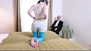 Blowjob,Brunette,Cumshot,Doggystyle,Fucking,Masturbation,Natural,Old and young,Reality,Shaved
