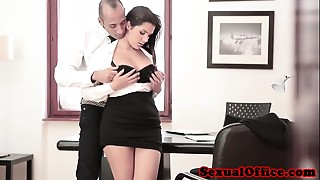 Babe,Big Ass,Big Boobs,Cumshot,Glasses,Handjob,Fucking,Office,Secretary,Titfuck