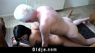 Beautiful,Blowjob,Daddy,Doggystyle,Grannies,Fucking,Mature,Old and young,Seduced,Teen