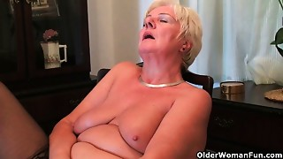 British,Chubby,Grannies,Housewife,Masturbation,Mature,MILF,Old and young,Wife