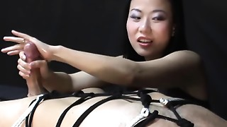 Asian,Big Cock,Femdom,Handjob,Homemade,Orgasm,Teen