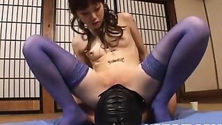 Asian,BDSM,Femdom,Handjob,Fucking,Lingerie,Masked,Stockings,Uniform