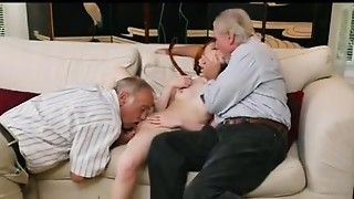 Babe,Mature,Old and young,Teen,Threesome