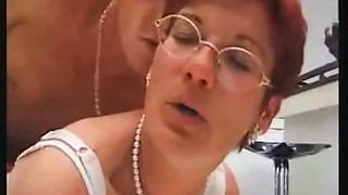Anal,Ass to Mouth,Glasses,Hairy,Fucking,Mature,Threesome
