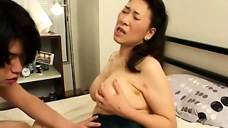 Asian,Big Boobs,Creampie,Hairy,Fucking,Mature,MILF,Stepmom,Teen