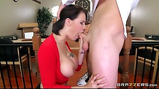 Big Boobs,Fucking,Lingerie,Office