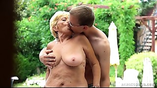 Ass licking,Big Ass,Big Cock,Blowjob,Doggystyle,Fingering,Grannies,Hairy,Fucking,Mature