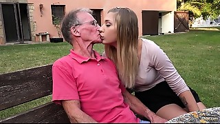Anal,Ass licking,Big Ass,Big Cock,Blonde,Blowjob,Cumshot,Daddy,Doggystyle,Extreme