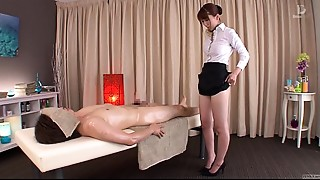 Asian,CFNM,Fetish,Massage,Strip,Uniform