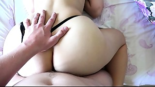 Amateur,Big Ass,Cumshot,Homemade,Panties,POV,Russian,Teen