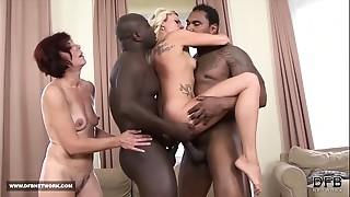 Anal,Big Ass,Big Cock,Black and Ebony,Blowjob,Cumshot,Gangbang,Group Sex,Fucking,Interracial