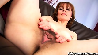 Hairy,Masturbation,Mature,MILF,Nipples,Old and young,Stepmom