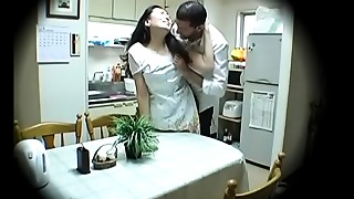 Amateur,Asian,Blowjob,Fingering,Housewife,Interracial,Kitchen,Mature,MILF,Stepmom