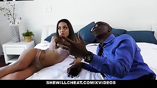 Big Boobs,Big Cock,Brunette,Cheating,Cuckold,Cumshot,Doggystyle,Fucking,Interracial,Latina