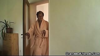 Grannies,Interracial,Mature,MILF,Stepmom,Threesome