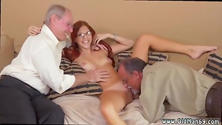 Amateur,Doggystyle,Old and young,Petite,Shaved,Teen,Threesome