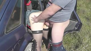Amateur,Big Ass,Big Boobs,Big Cock,Car Sex,Creampie,Cumshot,Extreme,Handjob,Fucking