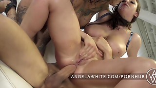 Anal,BBW,Big Ass,Big Boobs,Big Cock,Brunette,Fake,Gaping,Fucking,Natural