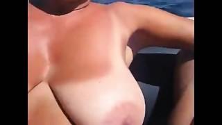 Amateur,Big Boobs,Mature,Outdoor,Public Nudity,Voyeur,Wife