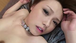 Asian,Blowjob,Brunette,Creampie,Lingerie,Sex Toys,Slut,Teen